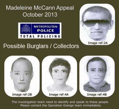 Operation Grange, actual suspects besides the main one from Smith's sighting
